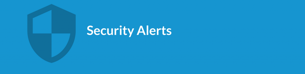 Spinbackup cybersecurity Security Alerts