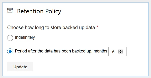 Office 365 Retention Spinbackup